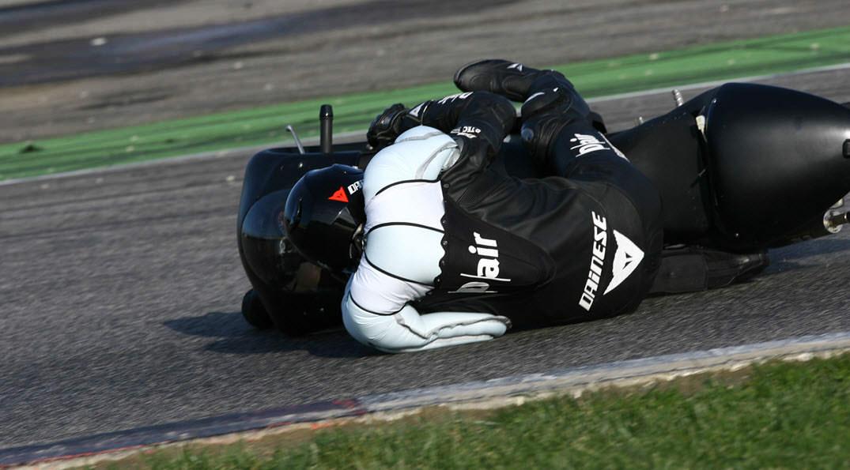 Jaquetes de moto amb airbag de seguretat